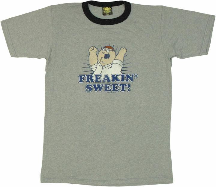 Family Guy Peter Sweet Vintage T-Shirt Sheer