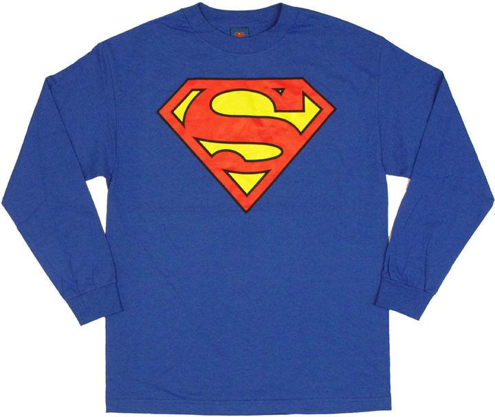 Superman Long Sleeve T-Shirt