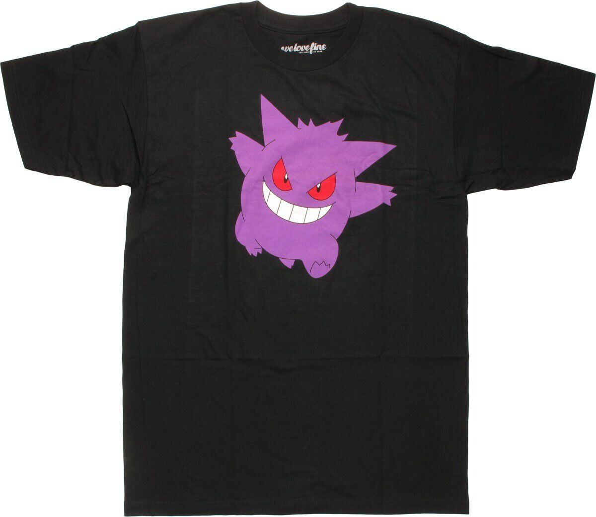 Pokemon Gengar Walking Mighty Fine T-Shirt