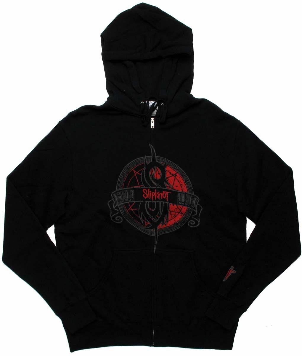 Slipknot Maggot Logo Zippered Hoodie
