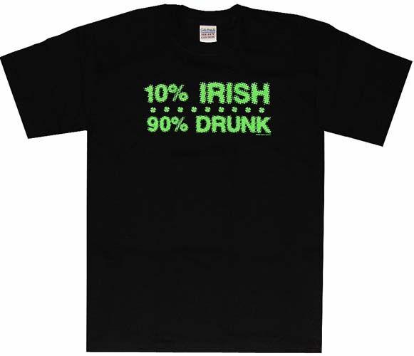 10 Percent Irish T-Shirt