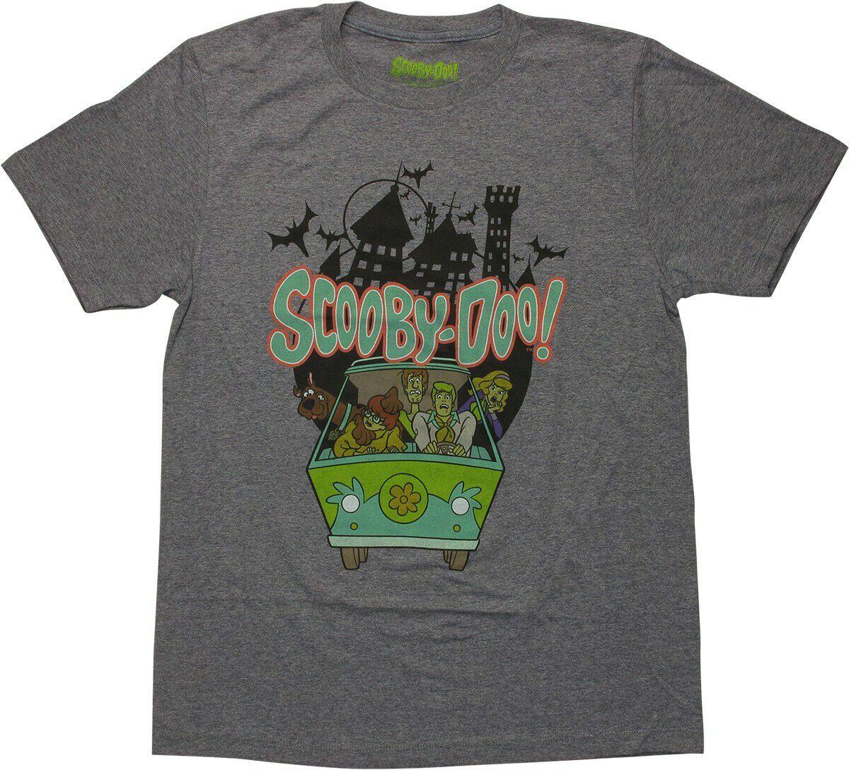 Scooby Doo Mystery Machine Van Castle T-Shirt