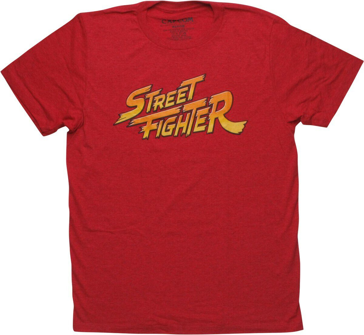 Street Fighter Logo Heather T-Shirt