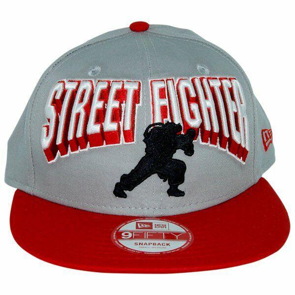 Street Fighter Block Name Hat