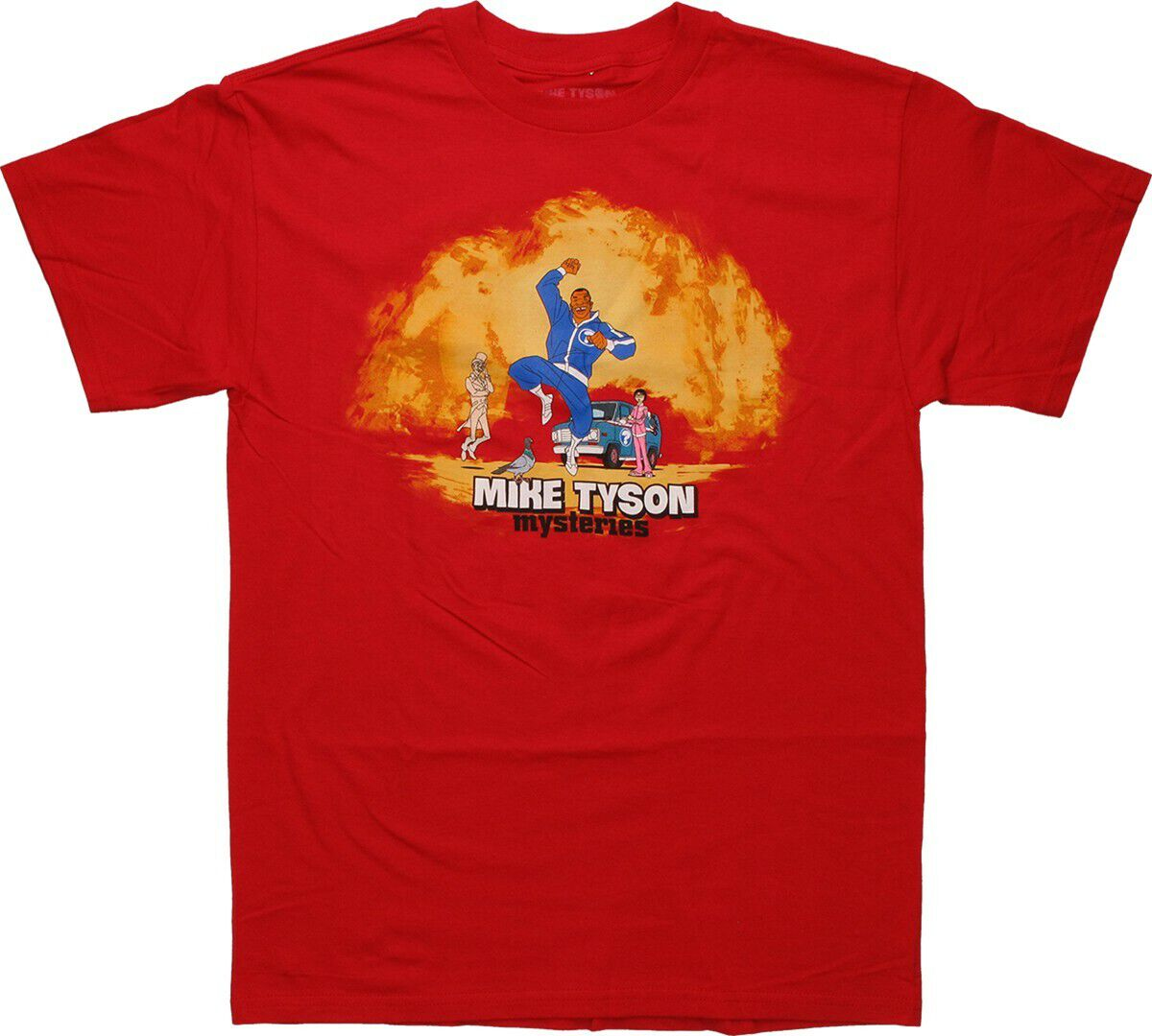 Mike Tyson Mysteries Jumping T-Shirt