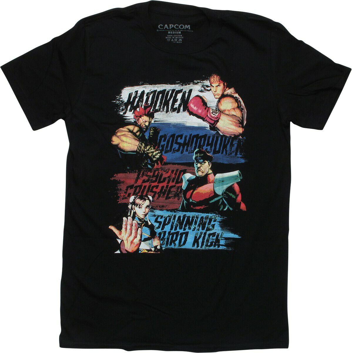 Street Fighter Show Your Moves T-Shirt