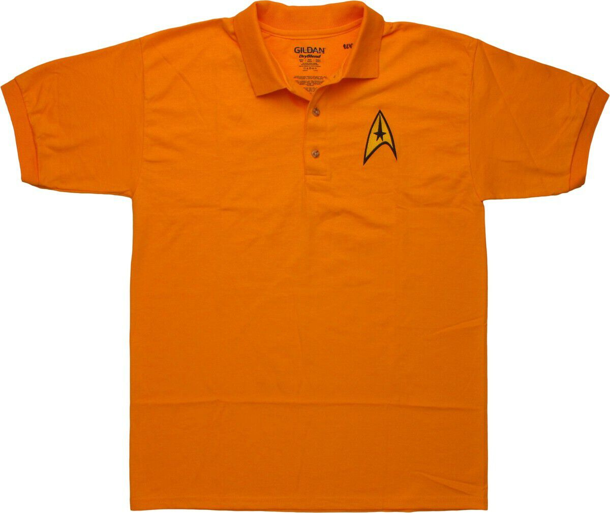 Star Trek TOS Command Badge Polo Shirt