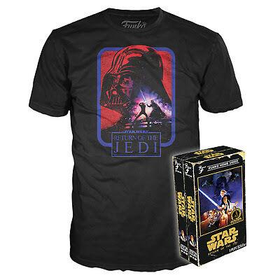 Star Wars Return of the Jedi Saga VHS T-Shirt