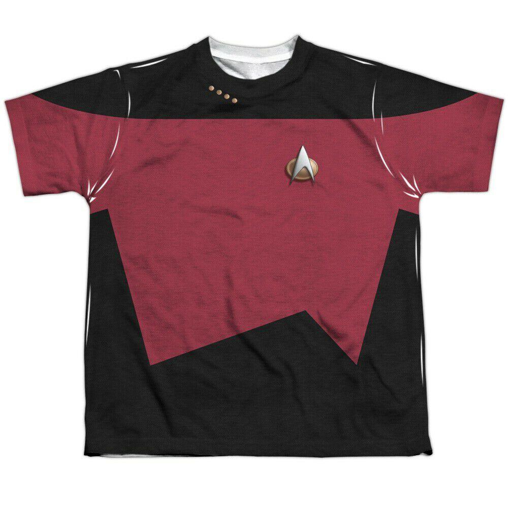 Star Trek TNG Command Dye Sub Youth T-Shirt