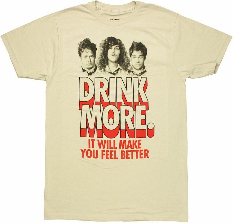 Workaholics Drink More T-Shirt Sheer