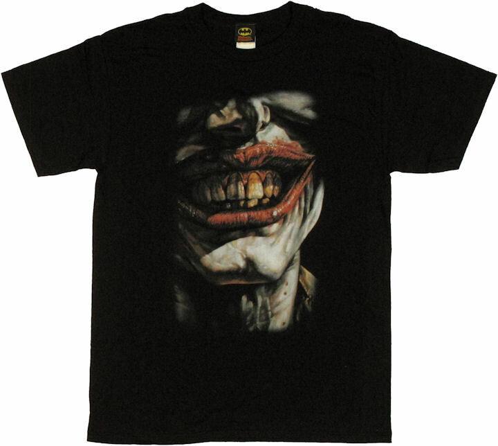Joker Evil Smile T-Shirt