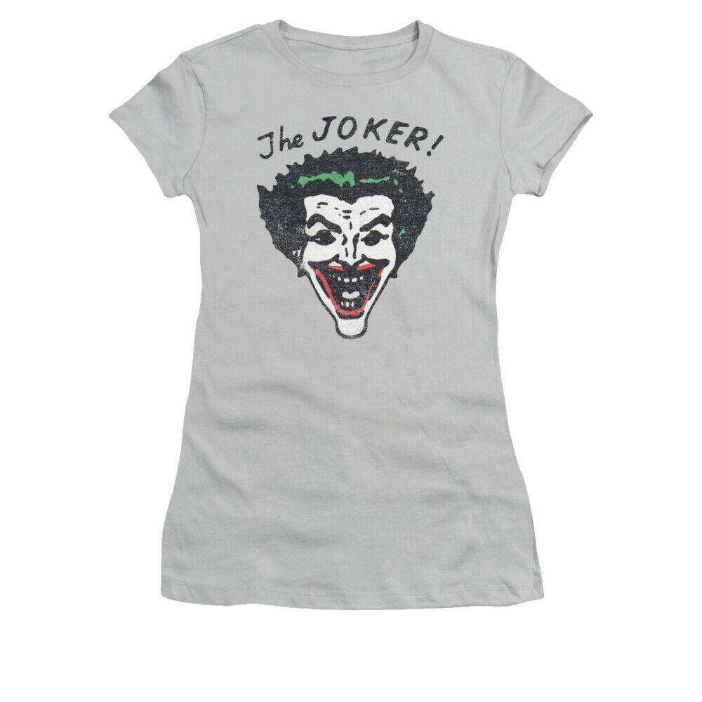 Joker Retro Joker Head Juniors T-Shirt