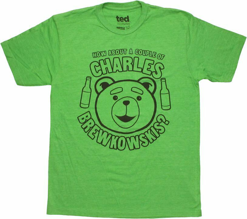 Ted Charles Brewkowskis T-Shirt Sheer