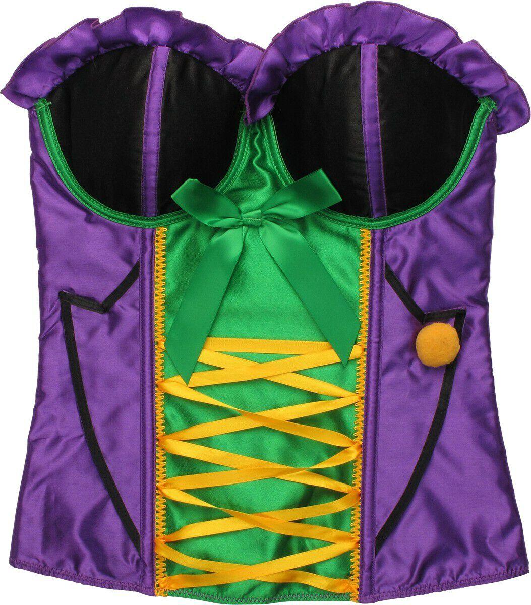 Joker Ribbon Costume Bustier