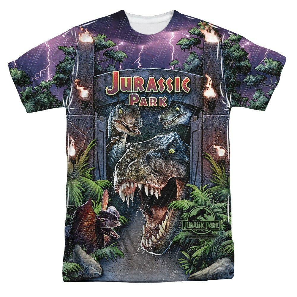 Jurassic Park Welcome Sublimated T-Shirt