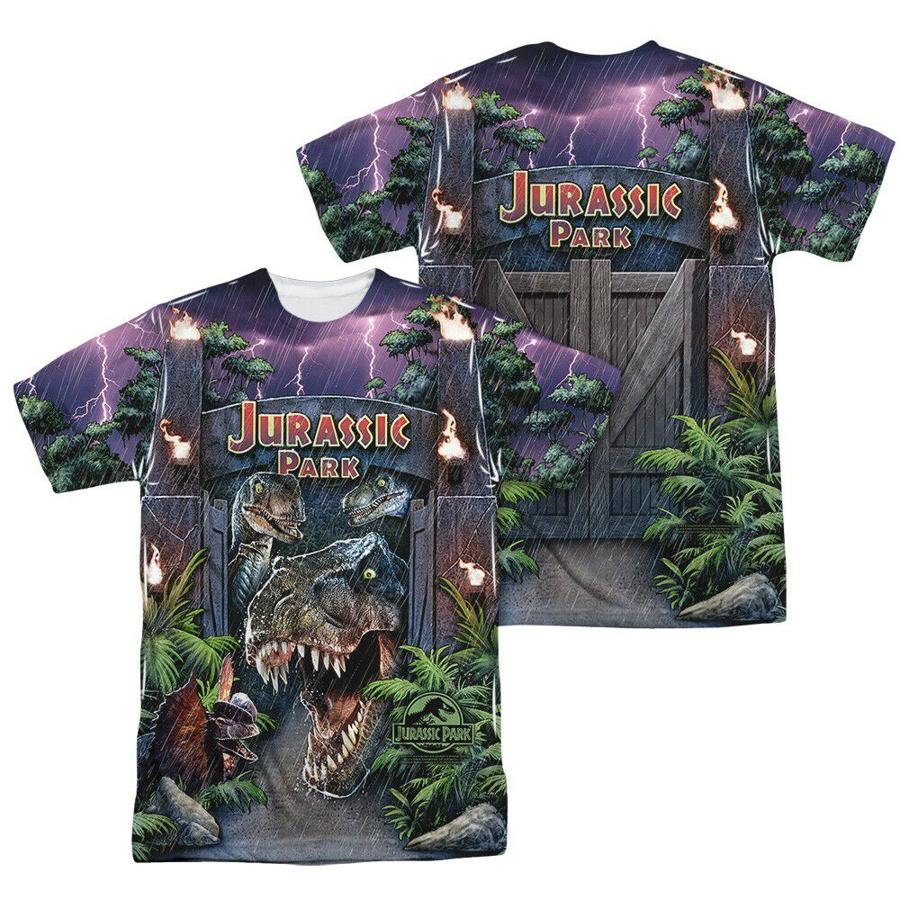 Jurassic Park Welcome FB Sublimated T-Shirt