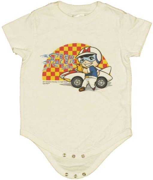 Speed Racer Baby Snap Suit