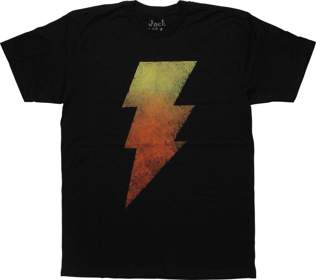 Shazam Black Adam Gradient T-Shirt Sheer