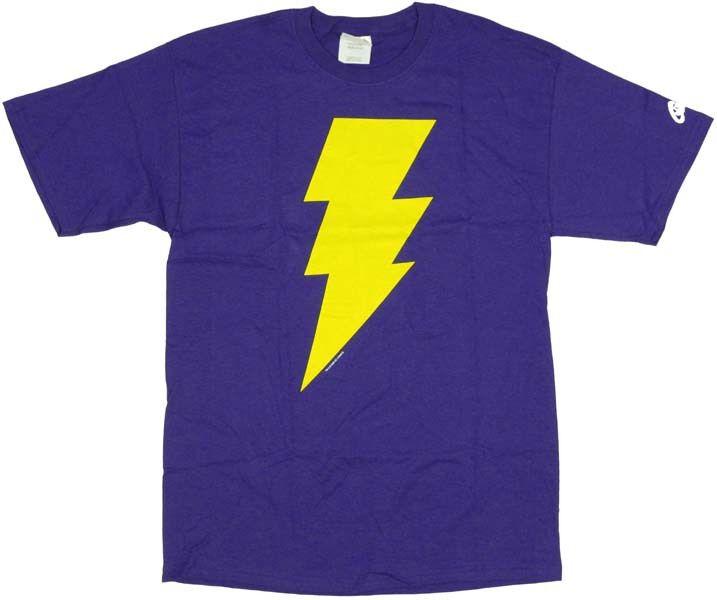 Shazam Captain Marvel Jr Symbol T-Shirt