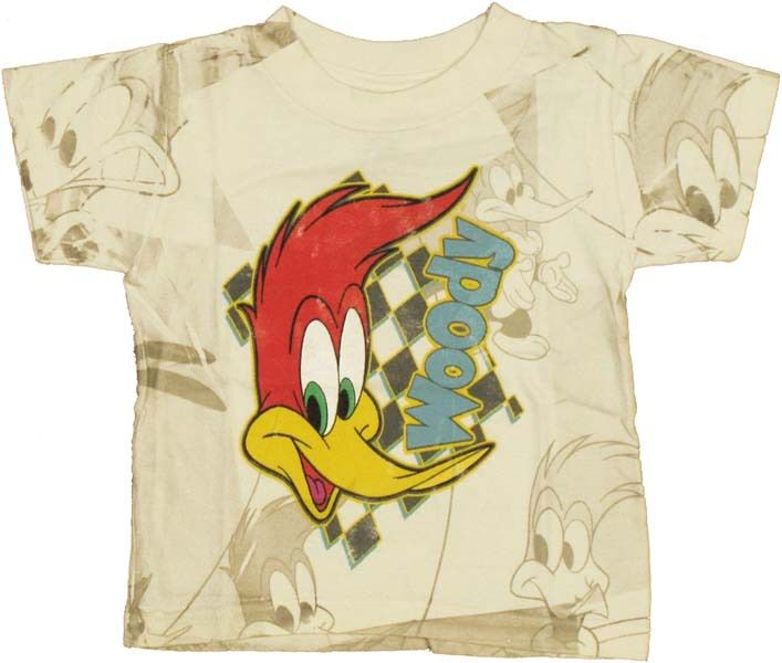 Woody Woodpecker Face Infant T-Shirt