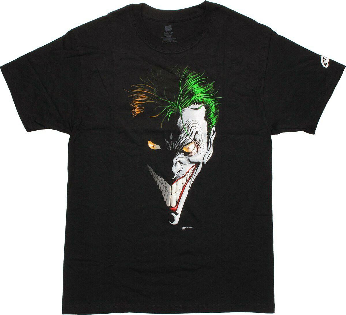 Joker Artistic Face T-Shirt