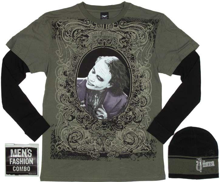 Joker Long Sleeve Shirt Combo