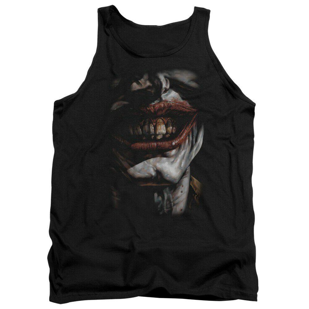 Joker Evil Smile Tank Top