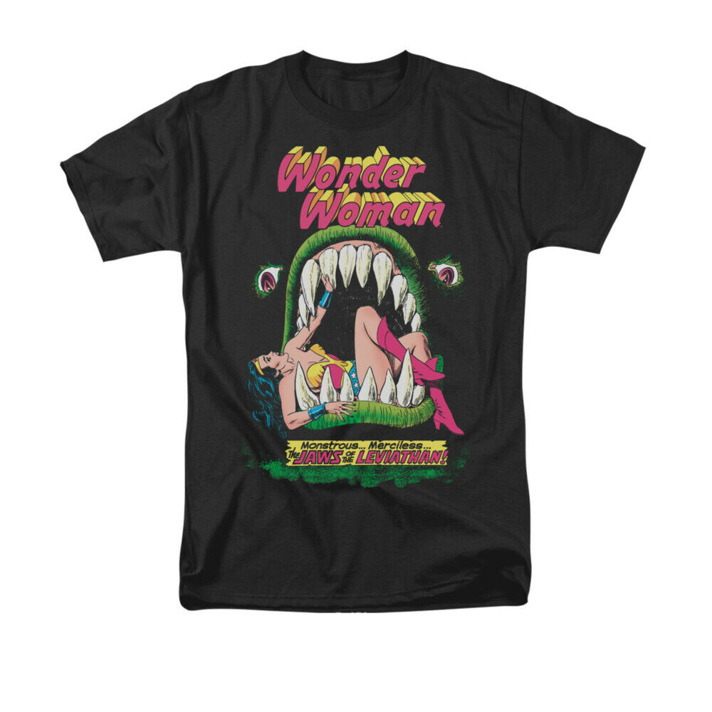 Wonder Woman Jaws T-Shirt