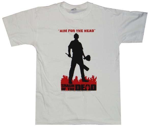 Shaun of the Dead Aim Silhouette T-Shirt