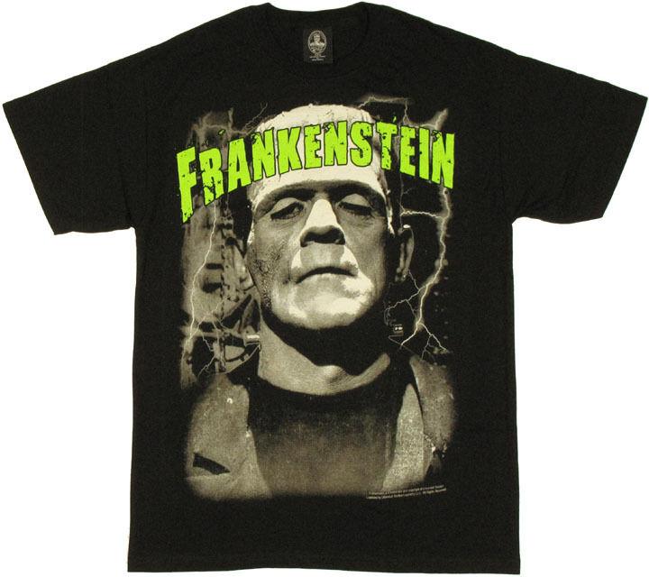 Frankenstein Name T-Shirt
