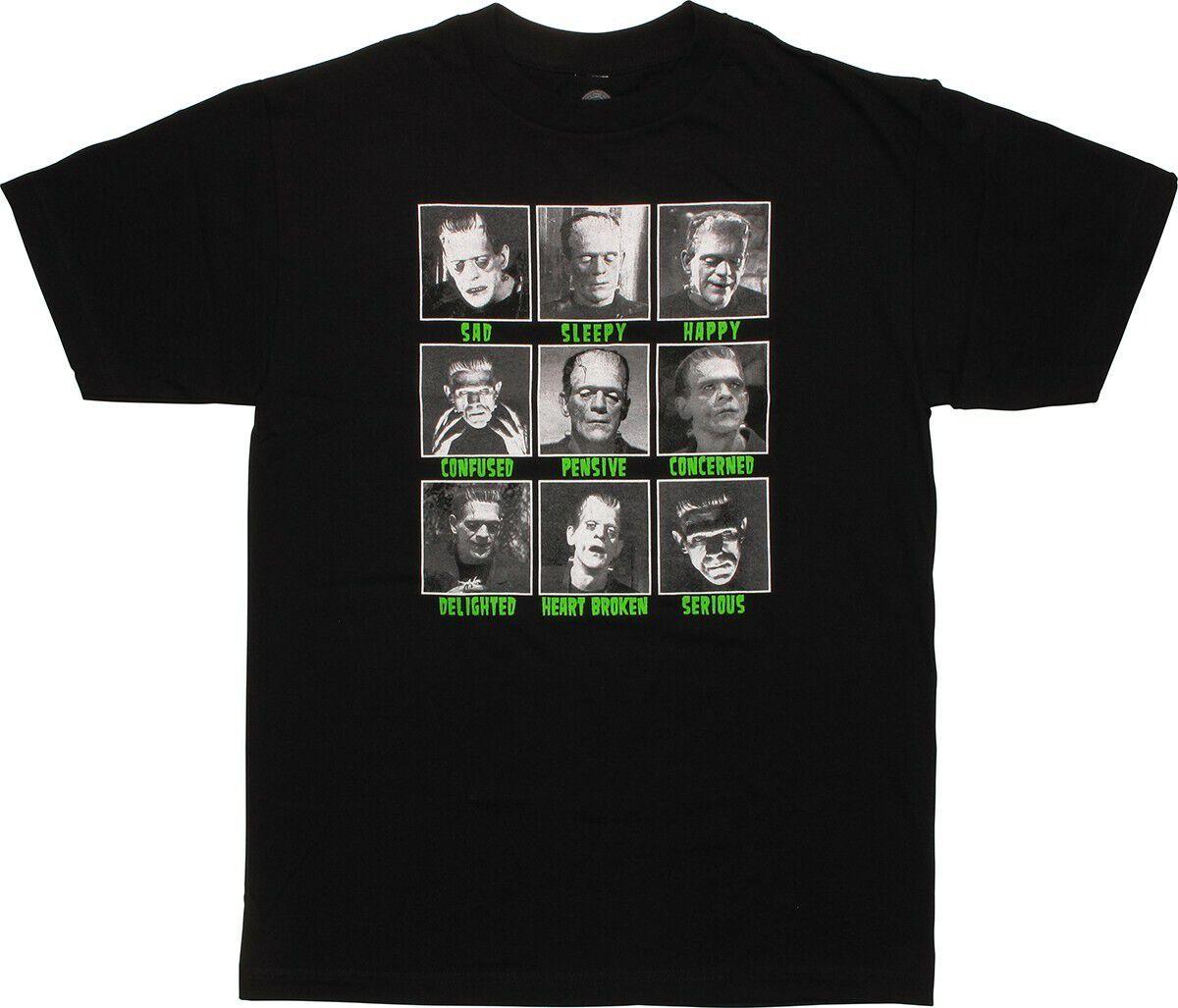 Frankenstein Face Moods T-Shirt
