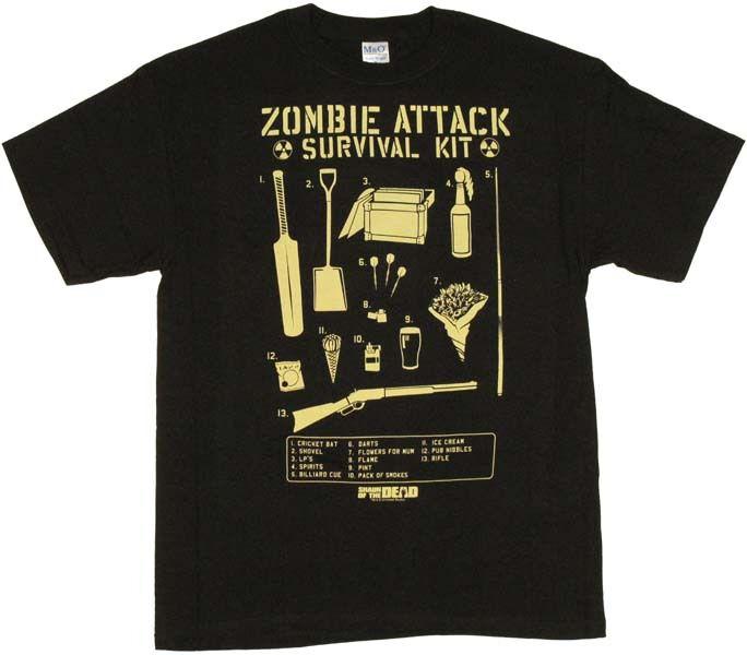 Shaun of the Dead Survival Kit T-Shirt