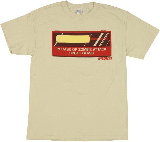 Shaun of the Dead Cricket Bat T-Shirt