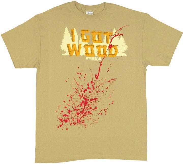 Shaun of the Dead Got Wood T-Shirt