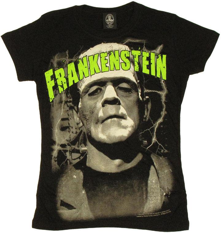 Frankenstein Name Baby Tee