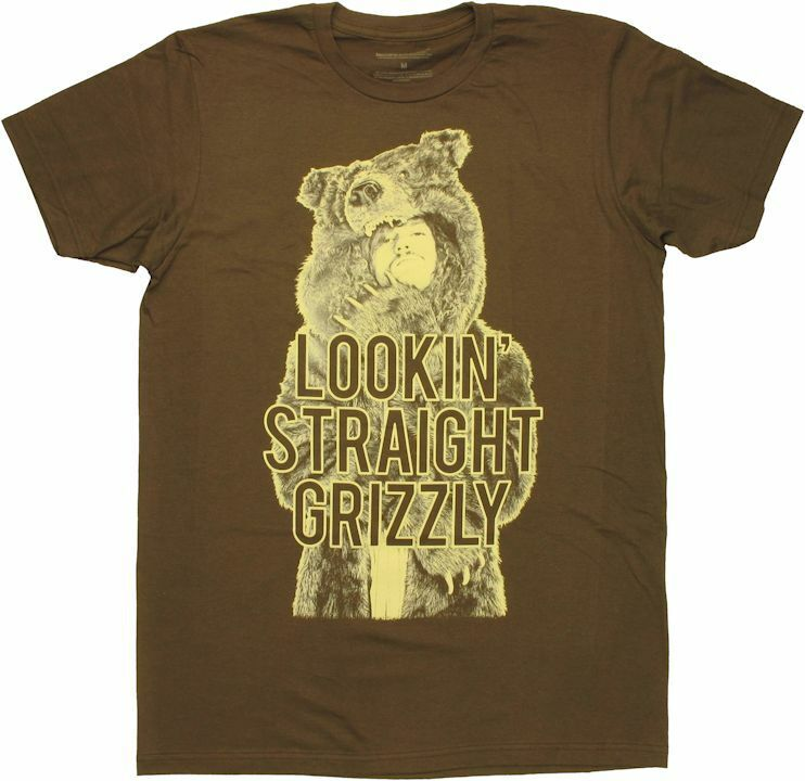 Workaholics Grizzly T-Shirt Sheer