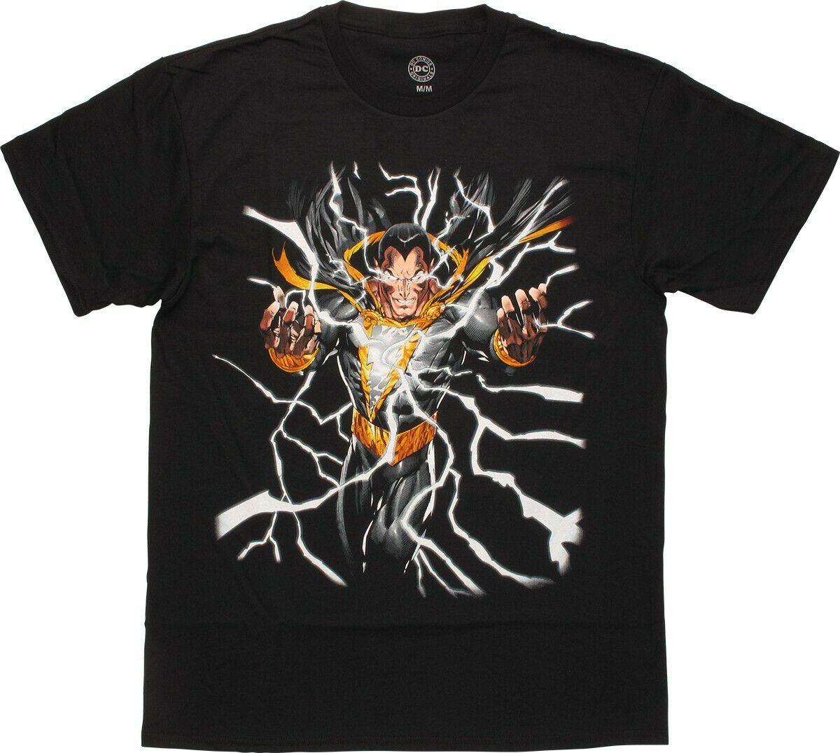 Shazam Black Adam Lightning T-Shirt