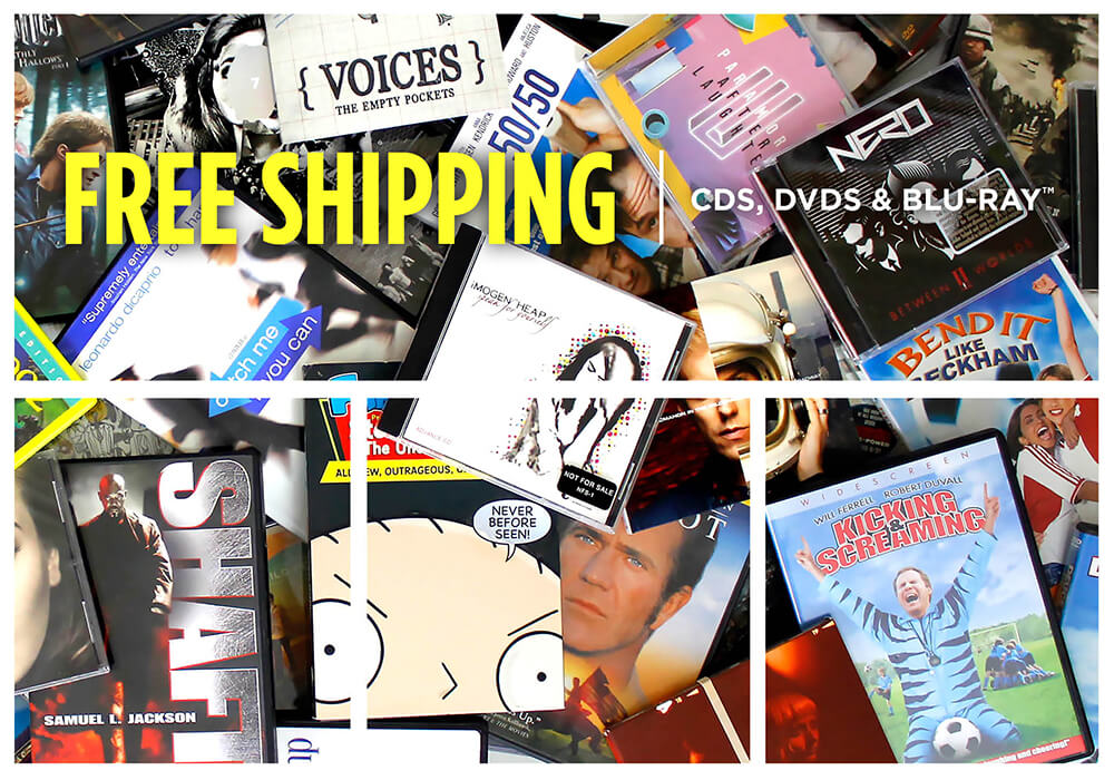 Free Shipping on CDs, DVDs, & Blu-ray