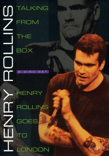 Henry Rollins Talking From The Box/Henry Rollins Goes To London [2 Discs]