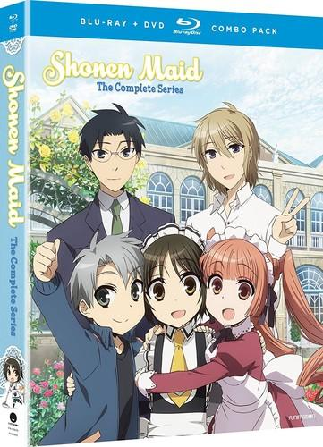 Shonen Maid: The Complete Series [Blu-ray/DVD] [4 Discs]