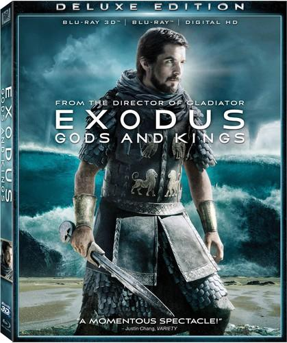 Exodus: Gods and Kings [Includes Digital Copy] [3D] [Blu-ray]