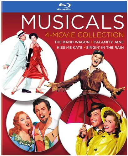 Musicals: 4-Movie Collection [4 Discs] [Blu-ray]