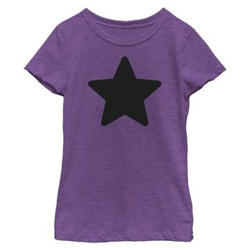 Steven Universe Purp Star Youth Girls Shirt