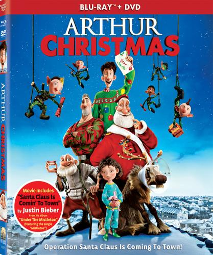 Arthur Christmas [2 Discs] [Includes Digital Copy] [UltraViolet] [Blu-ray/DVD], , small