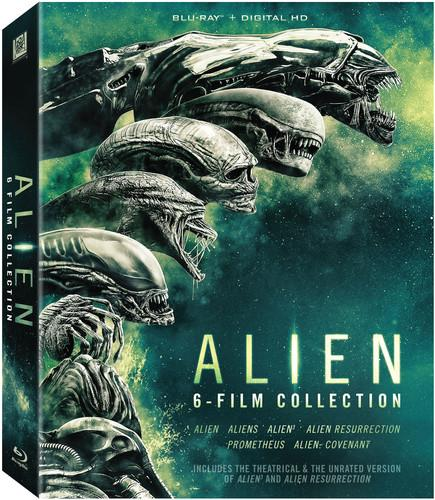 Alien: 6 Film Collection [Includes Digital Copy] [Blu-ray]