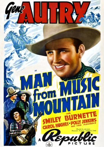 Man from Music Mountain, , small