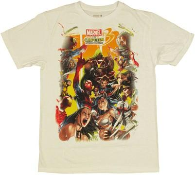Marvel vs Capcom 3 Sides T Shirt Sheer