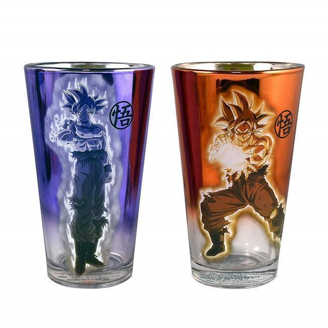 Dragon Ball Super Goku Pint Glasses [Set of 2]