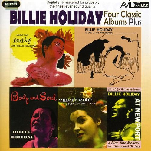 Billie Holiday - 4 Classics-Body and Soul/At Jatp/Torching/Velvet Mood