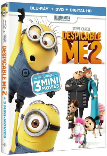 Despicable Me 2 [2 Discs] [Includes Digital Copy] [UltraViolet] [Blu-ray/DVD], , small